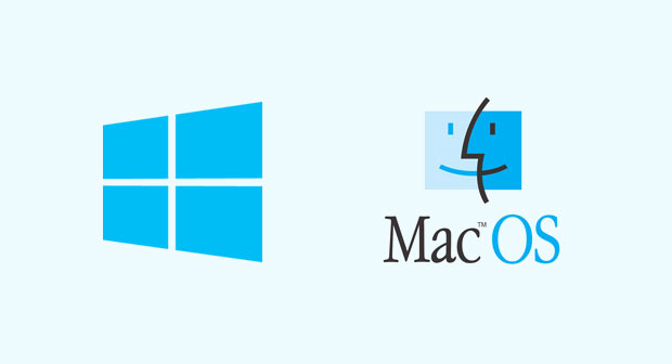 On Windows and macOS