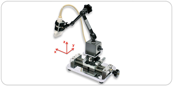 New Probe Holder for FMD studies